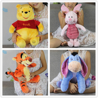 משלוח חינם 1 יחידות מיקי חזרזיר חזיר ורוד דוב וחבר Kawaii ילדה בני טיגר איה דונקי ממולא צעצועי מתנה של brithday