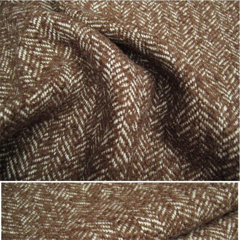 Британский Стиль Slim Fit Мужские костюмы Две кнопки Елочка Шерсть Мужские свадебные смокинги grentleman стиль мальчик Блейзер, куртка + брюки; жиле