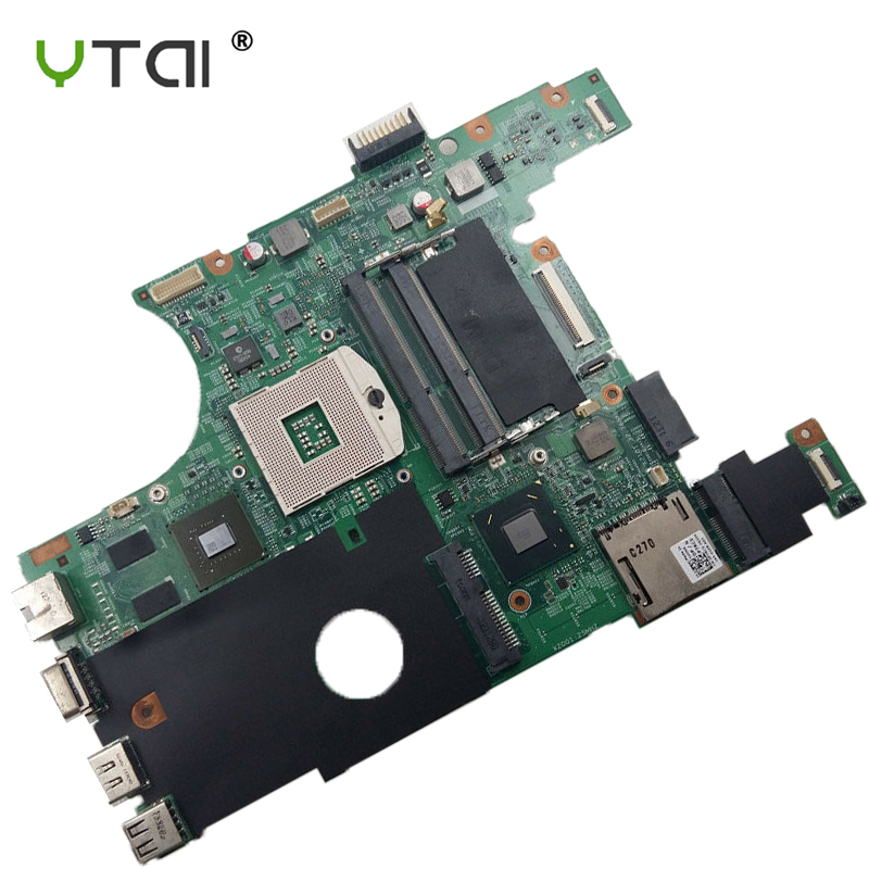 FOR V3420 3420 V2420 2420 Motherboard CN-0P7RC5 0P7RC5 P7RC5 Laptop Motherboard SLJ8F N13M-GS-A2 GPU DDR3 100% tested intact(China)