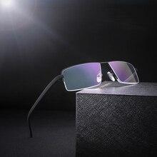 Óculos de leitura lente resina armação de metal preto TR90, anti fadiga, masculino  óculos f1b40bc4d5