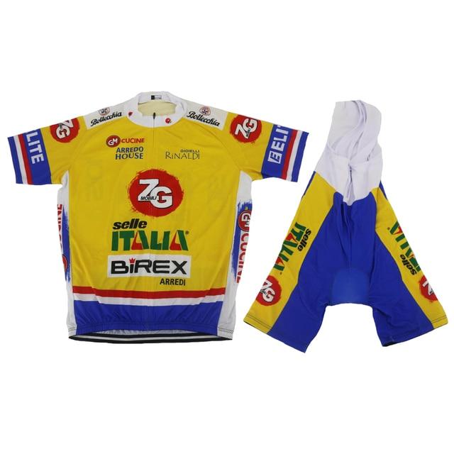 7868639a4 NEW Cycling jersey set ropa Ciclismo bike wear jersey set and bib shorts  gel pad team cycling clothing MTB