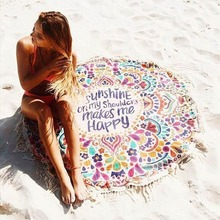 ¡ NUEVO!!! Bohemia Indio Mandala Tapiz Tapiz Tapices Colcha de Boho Beach Toalla Estera de Yoga Manta Paño de Tabla