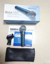 Clear Sound SHUBA  High-Quality!  Handheld Karaoke Microphone Mike Beta 58A Beta58A