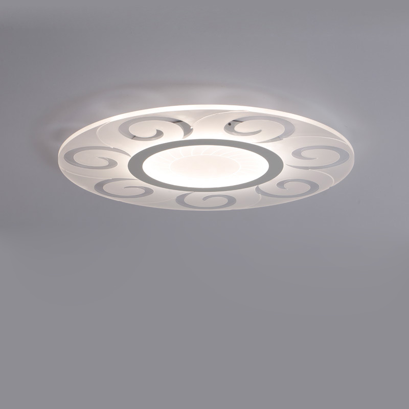 Led Ceiling Lights With Remote Control Modern Living Room Children Room Lamp Bedroom Lighting Fixtures Home Decor 110-220V black and white round lamp modern led light remote control dimmer ceiling lighting home fixtures