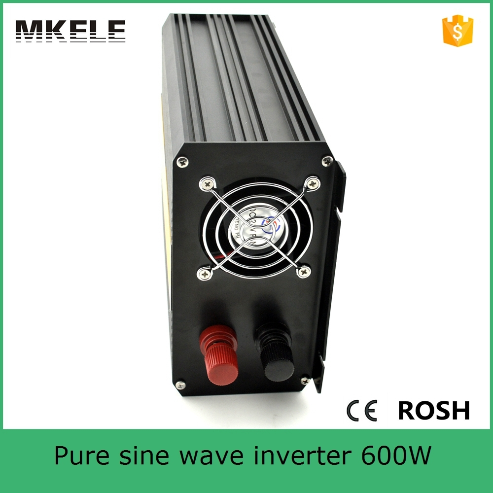 MKP600-121B 600w off grid pure sine wave power inverter with 12vdc input 110vac pure sine wave single output power inverter full power 600w off grid pure sine wave inverter dc12v input 110v output soft start high conversion efficiency with usb 5v 500ma