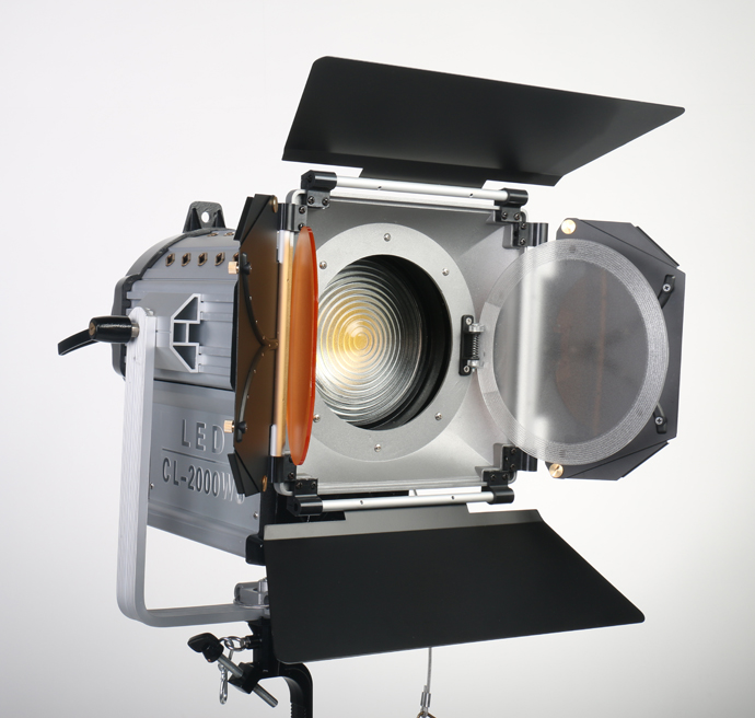 NiceFoto CL-2000WS Photographic Lighting LED Film Light Studio Flash Light Lamp Power 200W 5500K