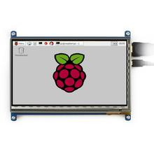 7inch HDMI LCD Capacitive Touch Screen Driver demo board Display Shield for Raspberry Pi Beaglebone Black Banana pi