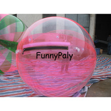 6f42d7ce6 Inflable juguete de agua Bola de agua transparente aqua Bola de hámster de  tamaño humano juego de pelota. tpu o de agua de pvc d.