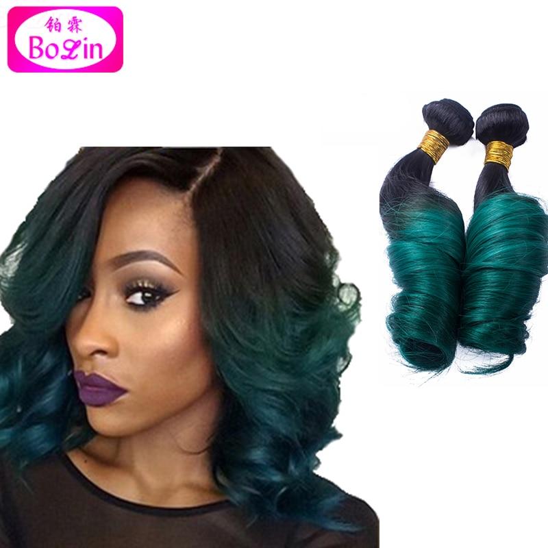 Free Shipping Ombre Curly Hair 6a Grade Brazilian Human Hair