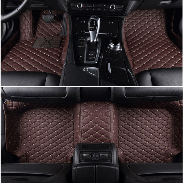 Carnong Leather Car Mat Floor For Volvo Xc90 2010 2018 7seater