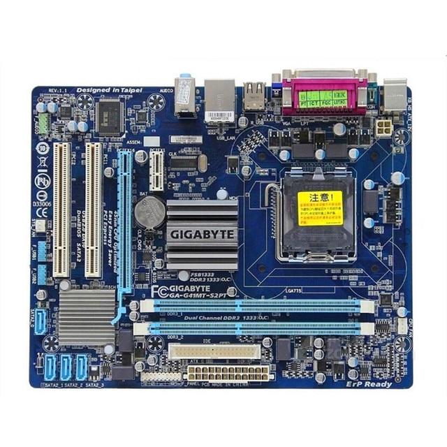 original motherboard for gigabyte GA G41MT S2PT LGA 775 DDR3 board G41MT S2P LGA775 G41 desktop G41MT G41 S2P D3 D3P motherboard