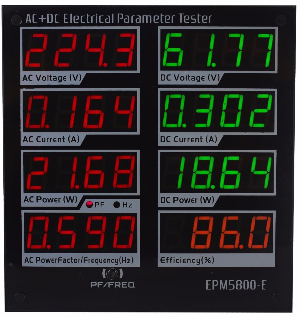 ZHURUI EPM5800-E Driver/efficiency Tri-Color Dc300v/10a