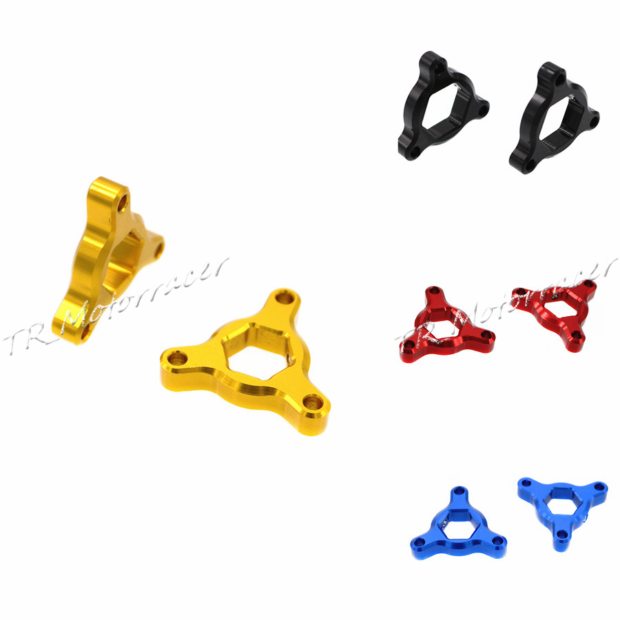 22mm Fork Preload Adjusters For Honda CBR600/1000RR Suzuki GSXR600 Kawasaki ER6N Motorcycle Accessories free shipping for bmw s1000rr motorcycle accessories 17mm fork preload adjusters 2pcs gold