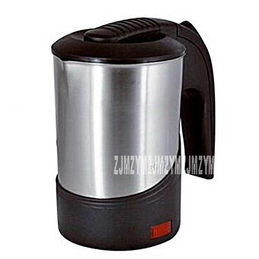 0.6L travel abroad electric kettle stainless steel 110V-220V European portable mini travel electric cup business abroad