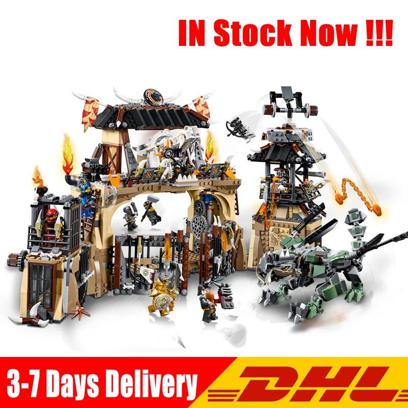 Compatible 70655 Lepin 06082 1859 Pcs The Dragon Pit Ninja Heroes Set Building Blocks Bricks Model Educational Toys Gift