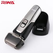 RIWA профессиональный ЖК-дисплей мужской электробритва Мужская бритва одно лезвие моющийся станок для бритья для стрижки бороды RA-5502
