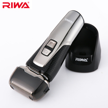 RIWA Professional LCD Display Male Electric Shaver Men's Raz