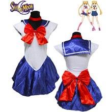 Наряжать новое аниме сейлор мун косплей вмс сейлор школьная форма костюмы производительности хеллоуин костюм женщины dress 7 цвета