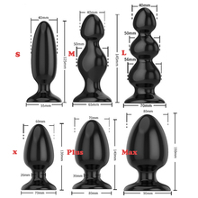 6 Types Dilatador Anal beads Silicone butt plug Gay sextoy Adult sex toys for men / woman Prostata massage Big Buttplug Dildo