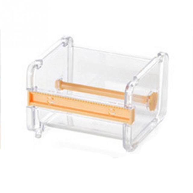 Singel Layer Tape Holder Dispenser Storage Case / Masking Tape Organizer School Office Desktop Tape Holder
