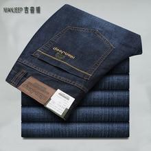 جديد لعام 2019 ، بنطال جينز للرجال للخريف والشتاء ، بنطال جينز غير رسمي ذكي للرجال ، ماركة الملابس ، حجم كبير 28 40 42 8231
