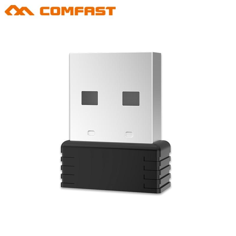 1000pcs Quality Comfast 150M Mini USB Wireless Network Card MT7601 WiFi Signal Transmitter /Receiver Desktop WLAN USB Adapter