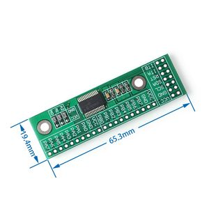 Image 2 - 100ピース/ロットMCP23017 I2Cインタフェース16bit i/o拡張モジュールピンボードiicにgipoコンバータ25mA1ドライブ電源供給