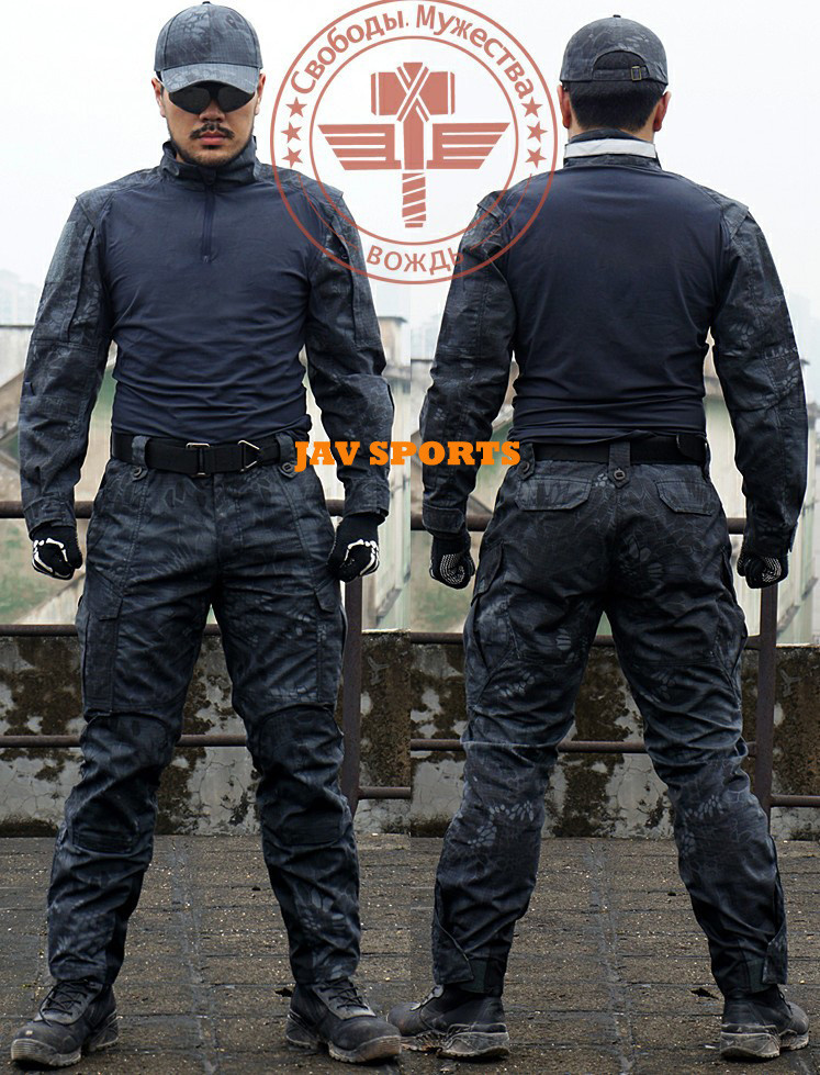 Chiefs rattlesnake law enforcement SWAT tactical combat uniform in kryptek typhon+Free shipping(SKU12050333) sports law in russia monograph