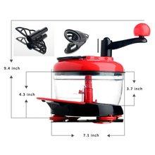 Multifunction Food Processor Kitchen Manual Food Vegetables Chopper Cutter Mixer Salad Maker Eggs Stirrer Kitchen Cooking Tool цена 2017