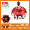 Dirt bike Pit Bike Motorcross Aluminum CNC Alloy Fuel Gas Tank Cap Fit CRF 250 450 XR250 250R Series Free Shipping!