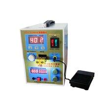 цены 220v /110V New upgrade LED lighting 788H double pulse precision 18650 Spot Welder Battery Welder, 788h