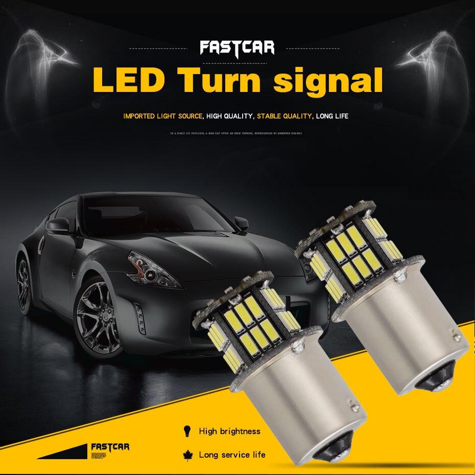 10x 12V Car led 1156 P21W ba15s Led light 42 led smd 1157 P21/5W bay15d LED LIGHT High quality