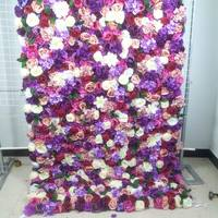 SPR Free Shipping CAN roll up flower wall wedding backdrop artificial flower row and arch decorative flore