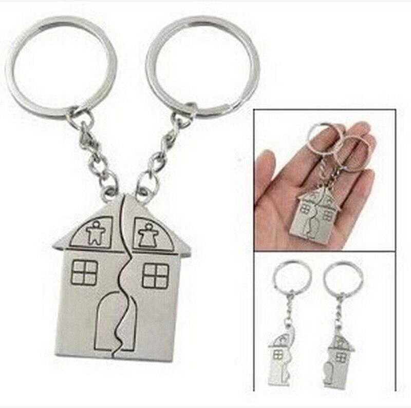 Nuova coppia di moda regalo romantica casa portachiavi personalizzato souvenir cordino - Regalo casa nuova ...
