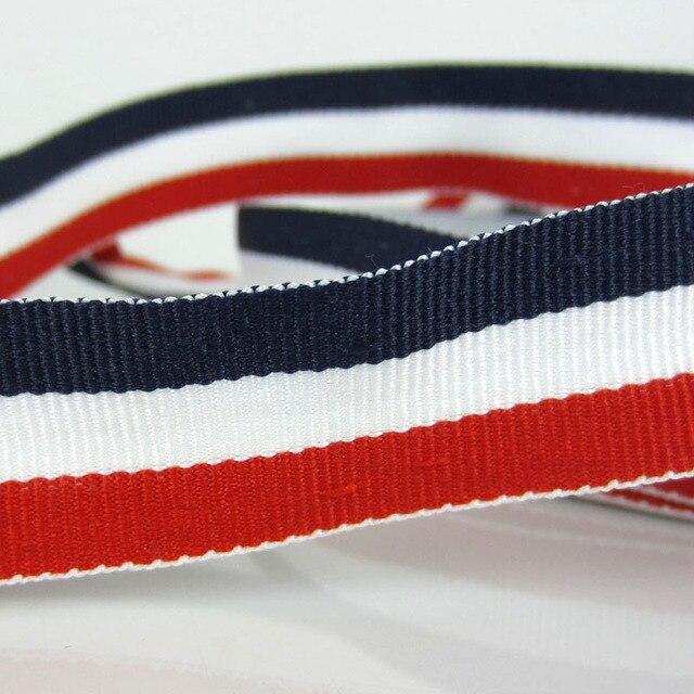 """10 Yards 3/4 """"Patriotisch Rot Weiß Navy Blau Ripsband"""
