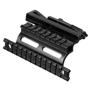 Image 5 - Suporte de escopo picatinny 20mm para montagem, suporte de trilho picatinny weaver ak série side suporte de rifle