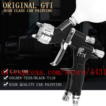 Lvmp מקצועי gti פרו לייט תרסיס אקדח TE20 T110 1.3/1.8mm צבע על בסיס מים רכב רכב אקדח