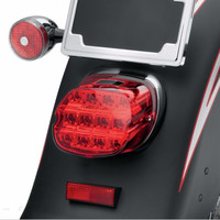 Harley Complete tail lamp assembly License Plate Tail Light Layback LED Tail Lamp For Harley Davidson