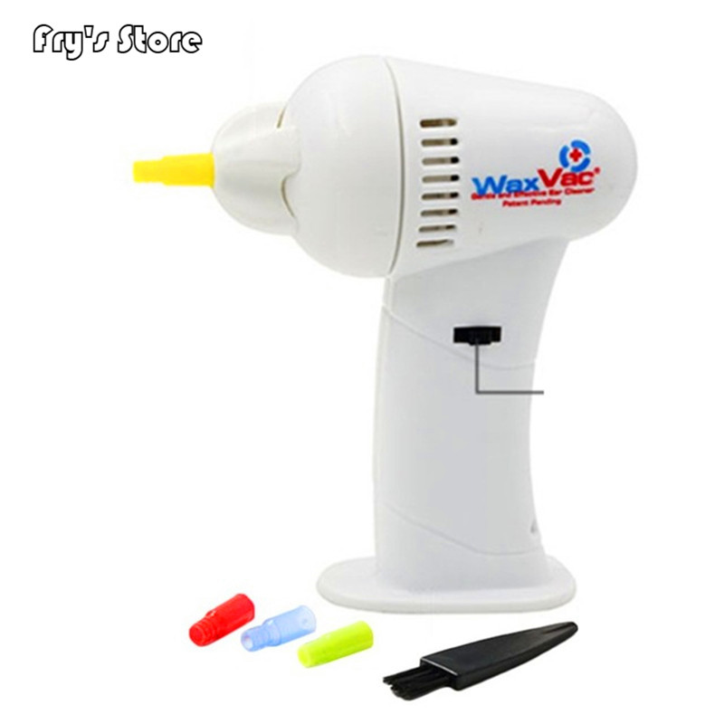 Painless Electric Ear Cleaner Cordless Ear Massage Cleaning Device Machine Vacuum Removal Kits Suction Safe Earwax Romover