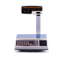قدرة عالية سعر الحوسبة الرقمية مقياس الالكترونية مع استلام الطابعة دعم متعددة اللغات الطباعة