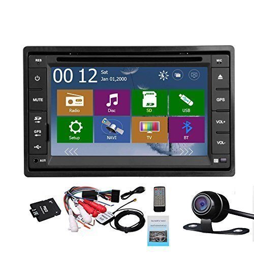 2 Din Car Autoradio Headunit In Dash Stereo 6 2 inch LCD Touch Screen DVD CD