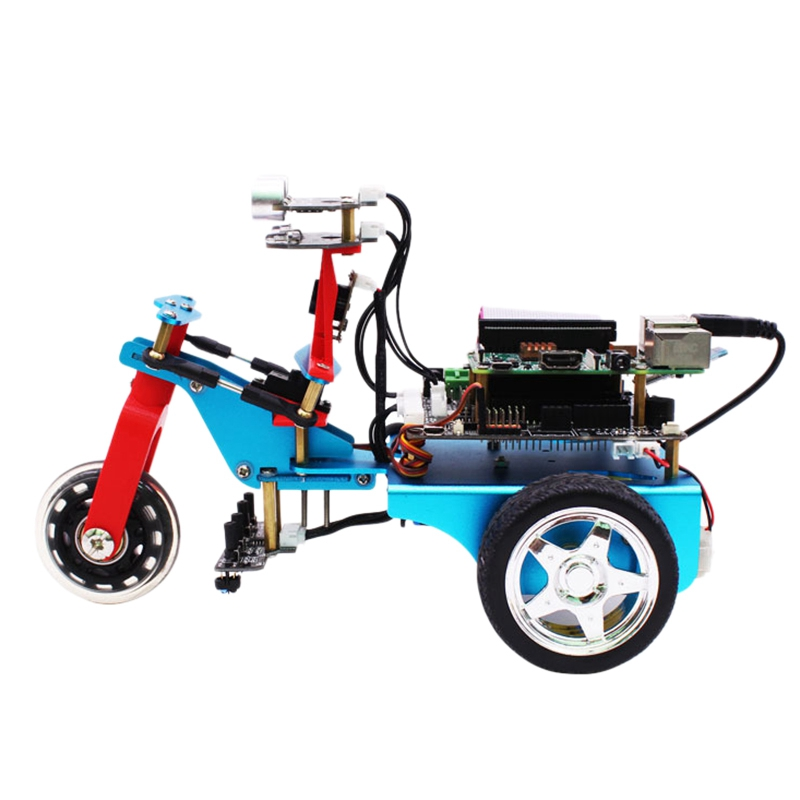 Applicable To Raspberry Pi Trikebot Smart Robot Car Kit Programmable Learning HD Camera Video Diy Robot Kit With Detailed E Tu