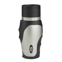 Mini 6X30 HD Monocular Powerful Large Eyepiece Telescope Portable Long Range Binoculars monocular for Camping Lll Night Vision