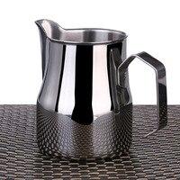 1 pc 350/500/750 ml 스테인레스 스틸 우유 frothing 투수 주전자 에스프레소 커피 우유 머그잔 갈 랜드 컵 라떼 주전자 커피 도구