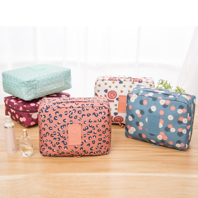 2017 Cosmetic Bags Makeup Makeup Bag Cosmetic  Beauty Case Make Up Organizer Toiletry Kits Storage Travel Wash Pouch Bags