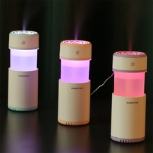Creative Pull-out Design Air Humidifier with LED Lights Ultrasonic Cool Mist Maker Air Purifier for Car Mini USB Aroma Diffuser