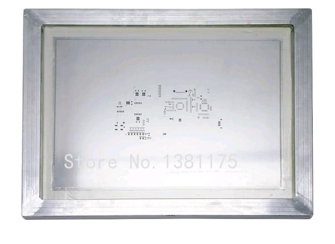 Livraison gratuite pochoirs Laser en acier inoxydable encadrés en Aluminium pour assemblage de soudure PCB SMT avec pochoir de haute précision 025