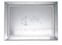 送料無料アルミフレーム化ステンレス鋼レーザーステンシル用pcbはんだ組立smtで高精度ステンシル025