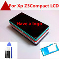 For Sony for Xperia Z3 compact Z3 mini LCD D5803 D5833 display touch screen digitizer Assembly with frame + tool binder + free s