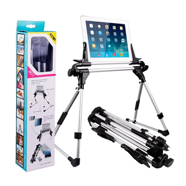 Lazy bed escritorio tablet pc holder soporte plegable para ipad iphone samsung ajustable que gira 360 piso flexible montaje de escritorio